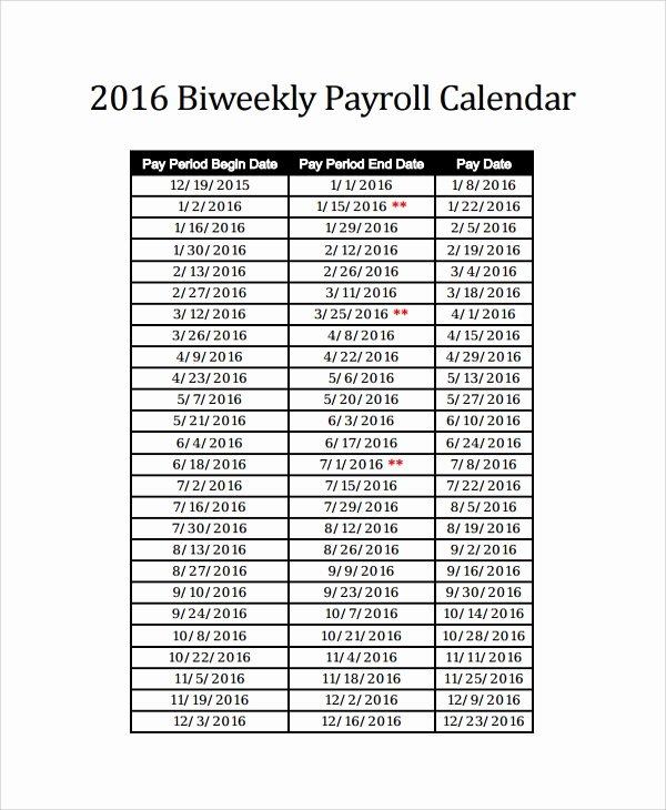 Payroll Calendar Template 2017 Best Of 10 Payroll Calendar Templates