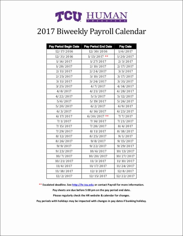 Payroll Calendar Template 2017 Unique 26 Payroll Samples & Templates In Pdf