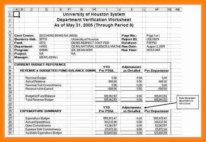 Payroll Reconciliation Excel Template Fresh 6 Payroll Reconciliation Spreadsheet