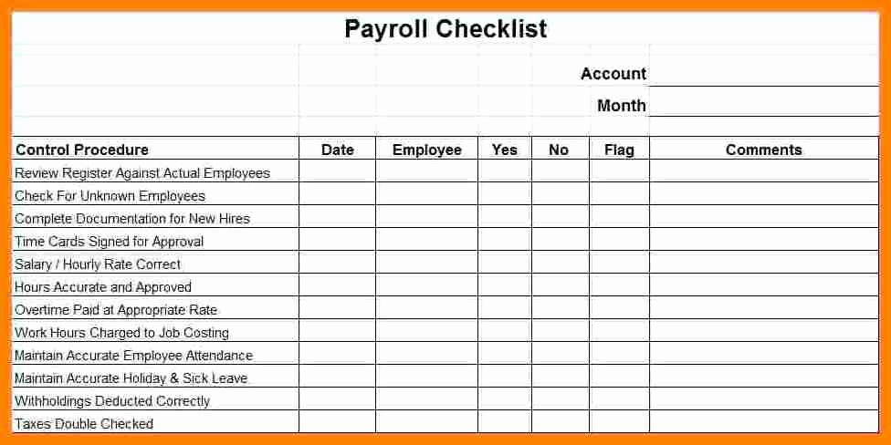 Payroll Reconciliation Excel Template Inspirational 13 Payroll Reconciliation Example
