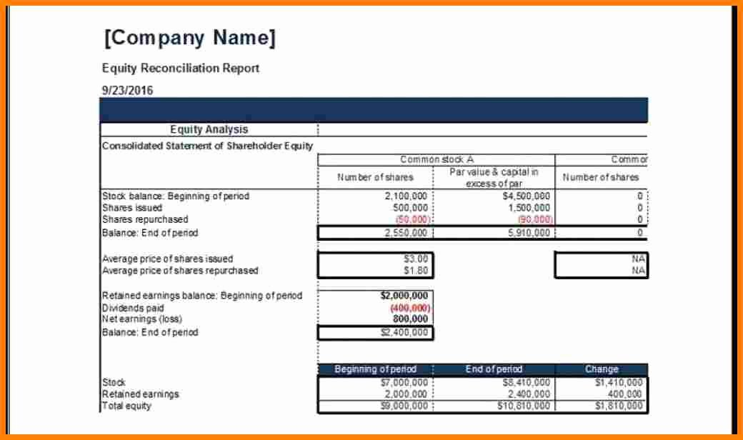 Payroll Reconciliation Excel Template Inspirational 6 Payroll Reconciliation Excel Template