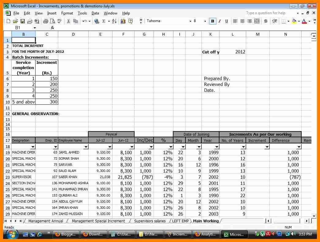 Payroll Reconciliation Excel Template Inspirational 9 Payroll Reconciliation Template