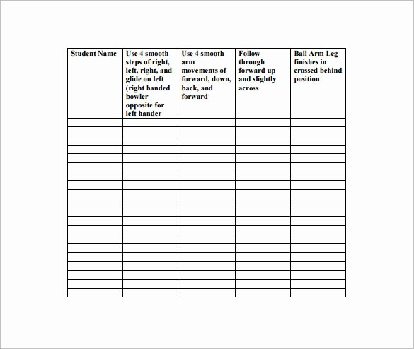 Pe Lesson Plan Template New Behavior Chart Template for Elementary Templates