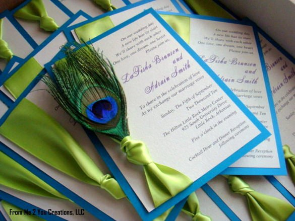 Peacock Invitations Template Free Beautiful 23 Peacock Wedding Invitation Templates – Free Sample