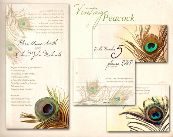 Peacock Invitations Template Free Best Of Peacock Feather Invitation Template