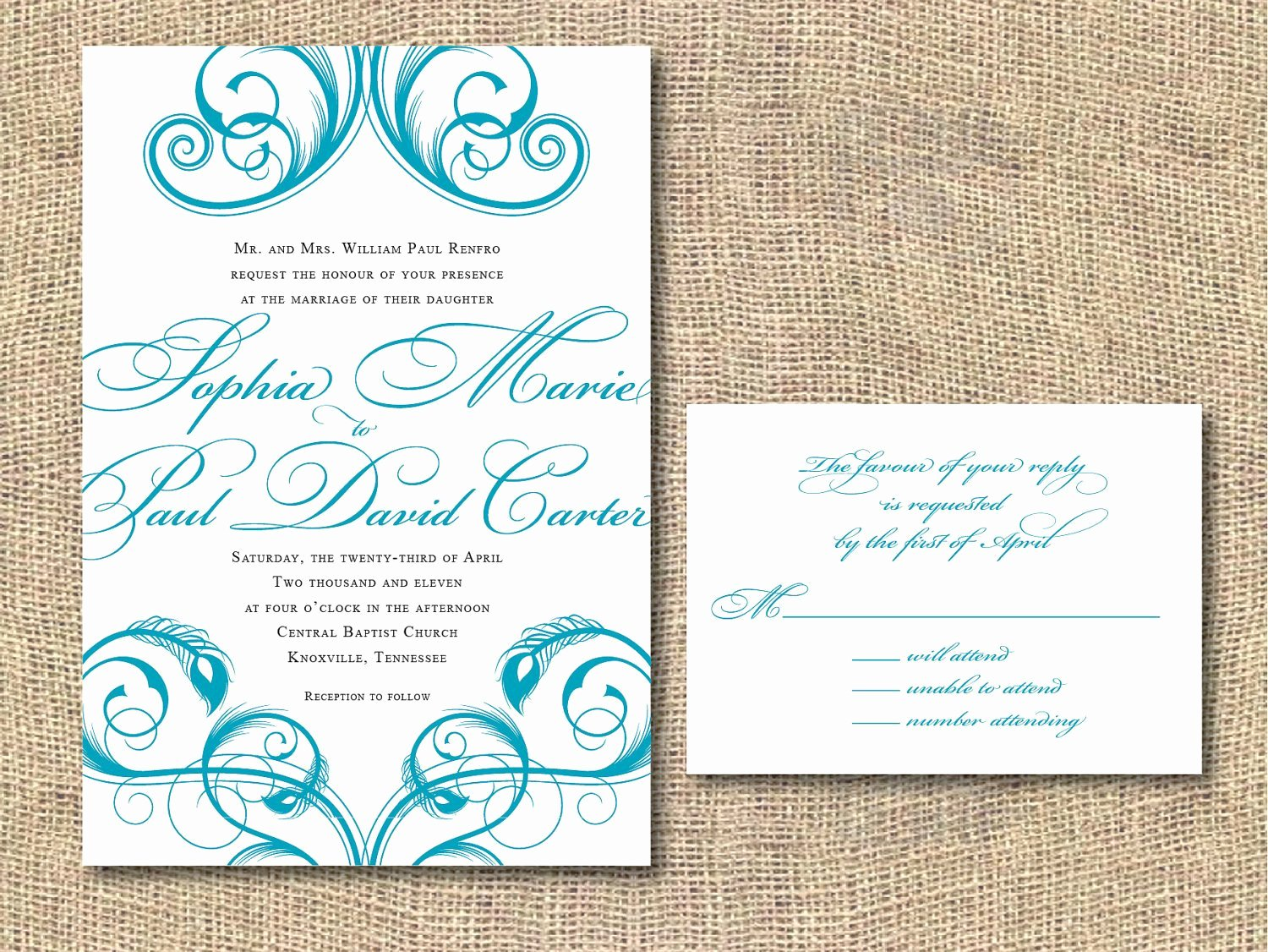 Peacock Invitations Template Free Lovely Printable Wedding Invitation Peacock by Iheartpaperandthread