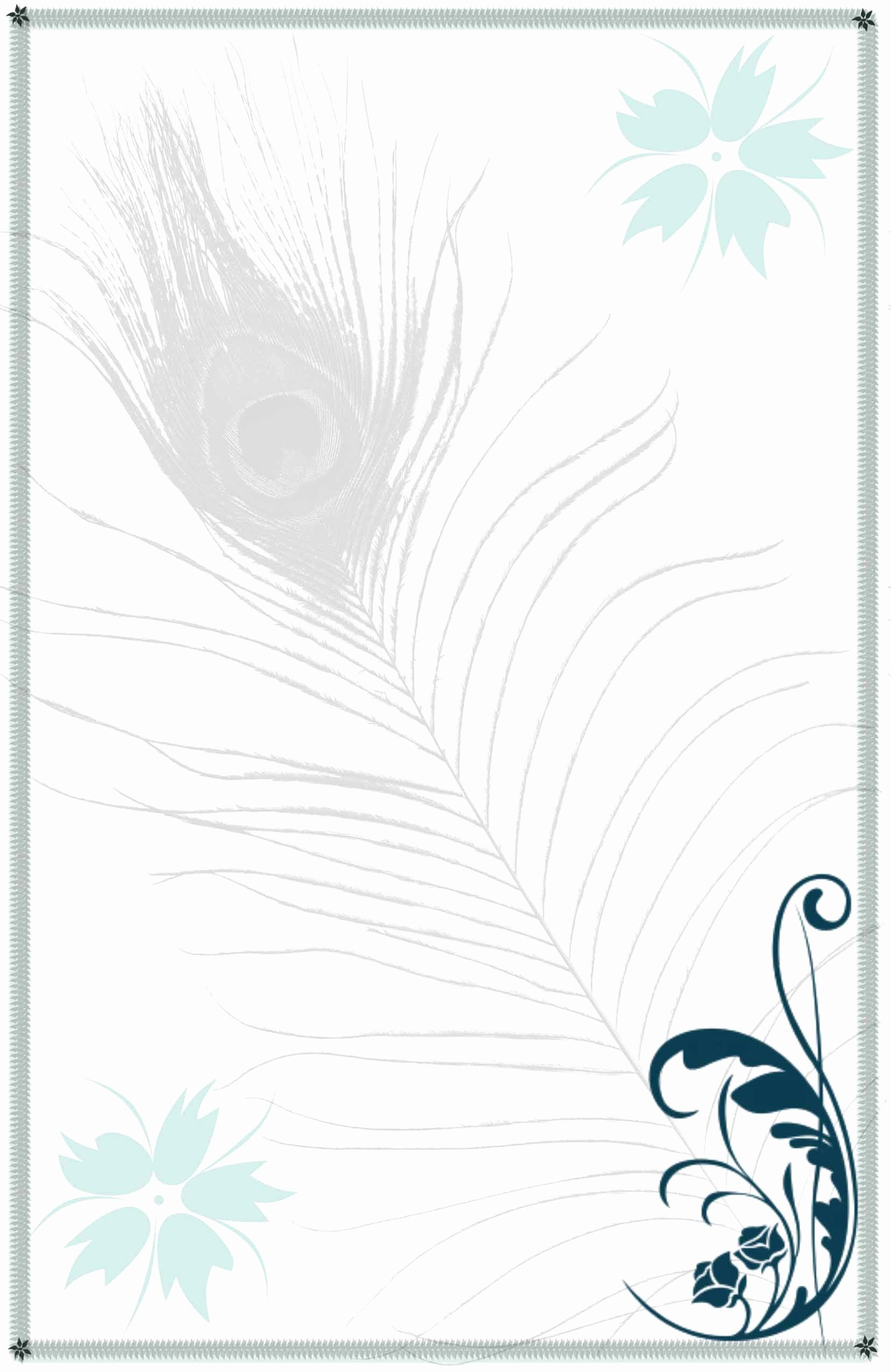 Peacock Invitations Template Free Luxury Peacock Invitations Template Free Peacock Feather