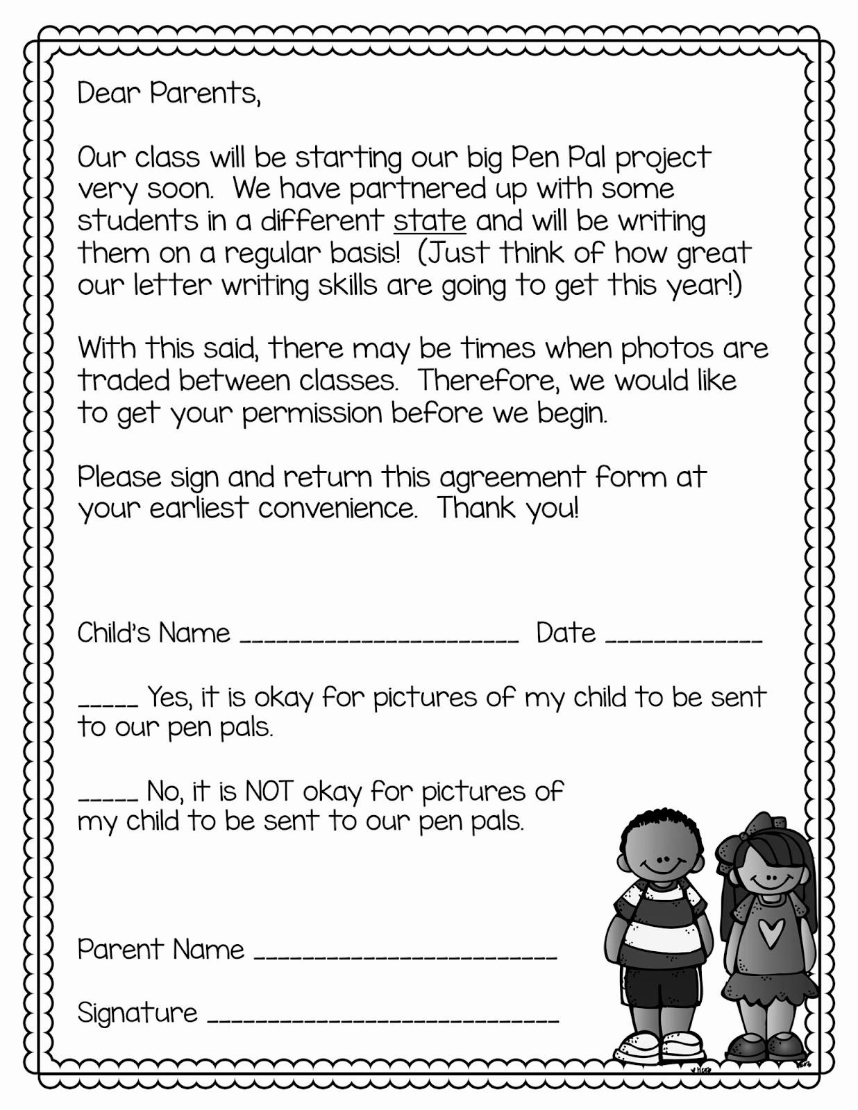 Pen Pal Letter Template Best Of Classroom Pen Pals Tips and Tricks for the Year