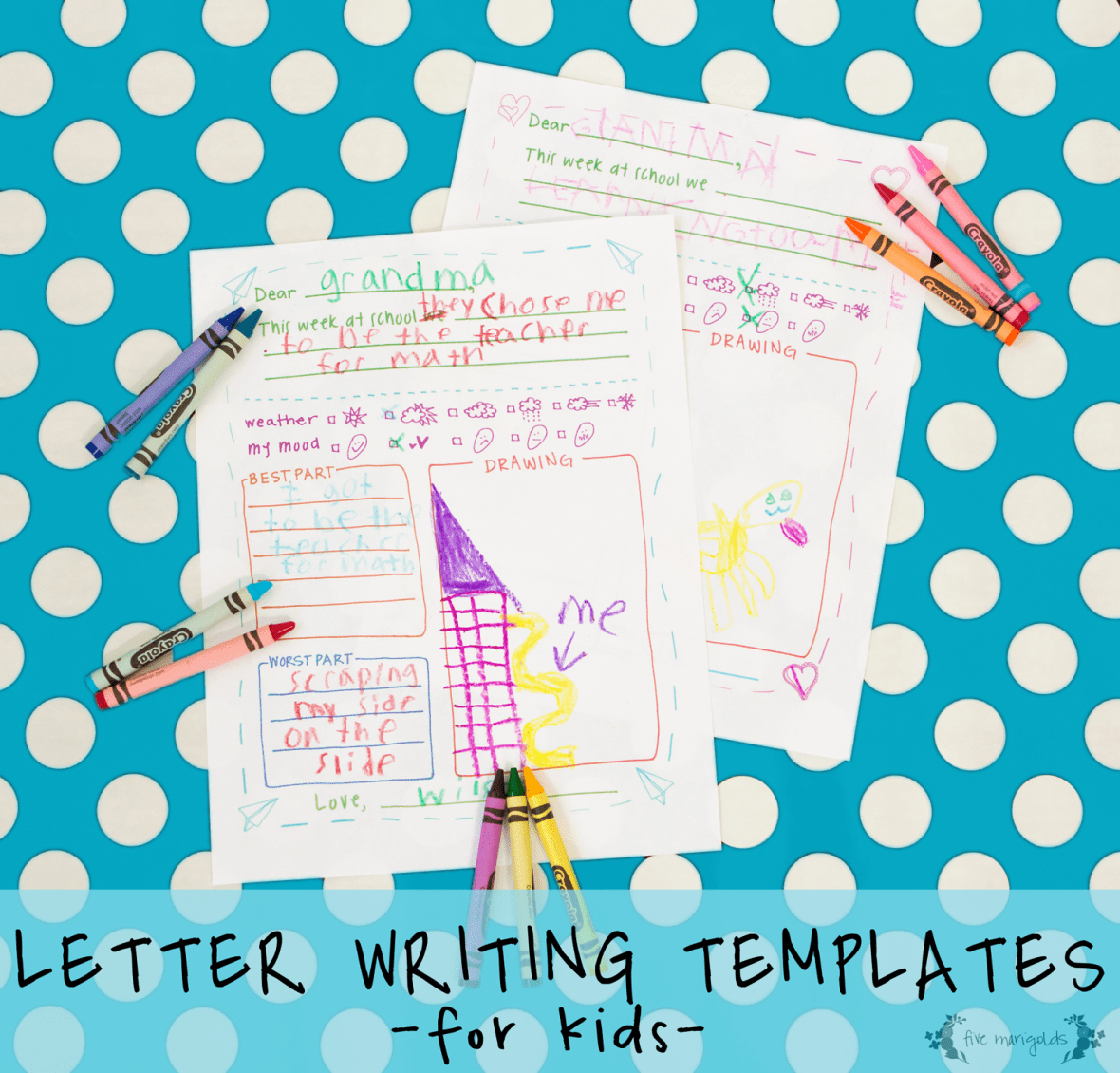 Pen Pal Letter Template New Free Printable Letter Writing Templates for Grandma Pen