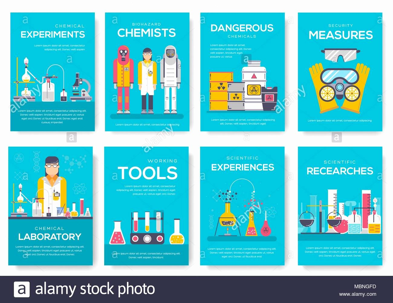 People Magazine Cover Template Best Of Biohazard Chemists Brochure Cards Set Chemistry Lab