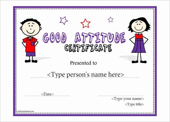 Perfect attendance Award Template Luxury 21 attendance Certificate Templates Doc Pdf Psd