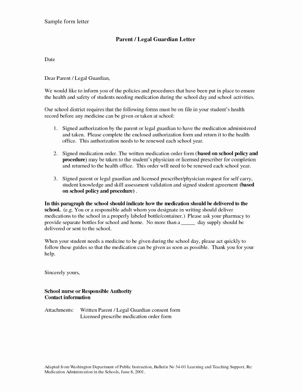Permanent Guardianship Letter Template Elegant Permanent Guardianship Letter Template Cv Templates 15