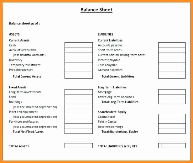Personal Balance Sheet Template Beautiful Accrued Liabilities Balance Sheet Personal Balance Sheet