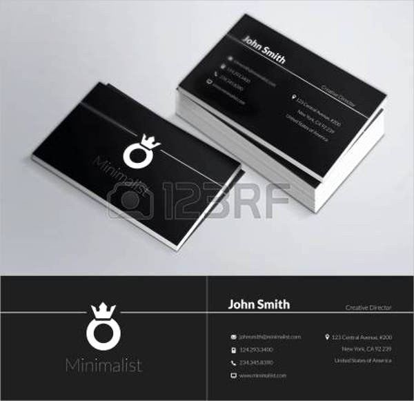 Personal Business Cards Template Awesome 49 Business Card Designs & Templates Psd Ai Vector