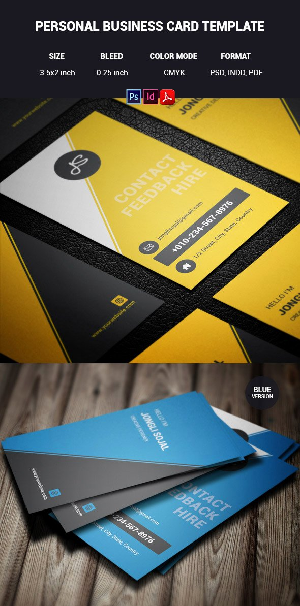 Personal Business Cards Template Elegant 15 Premium Business Card Templates In Shop