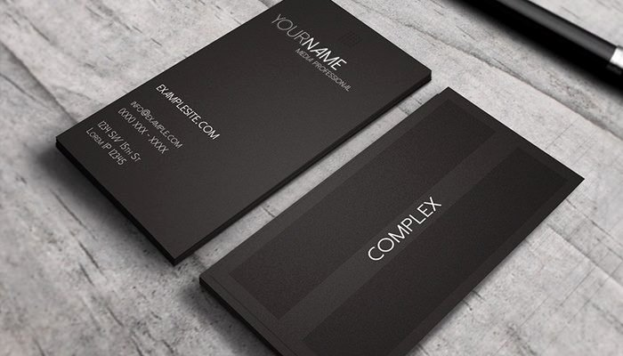 Personal Business Cards Template Elegant Personal Professional Business Card
