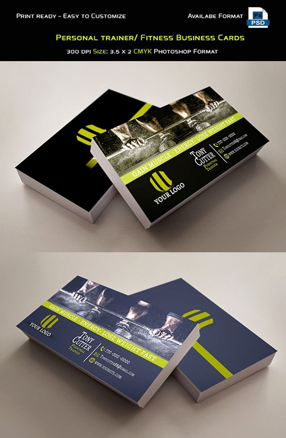 Personal Business Cards Template Inspirational 25 Best Ideas About Personal Trainer Business Cards On