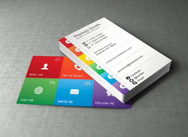 Personal Business Cards Template Lovely 20 Best Free Business Card Templates
