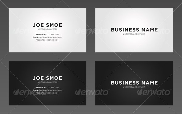 Personal Business Cards Template New 45 High Quality Personal Business Card Templates