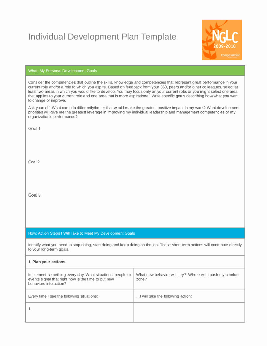 Personal Growth Plan Template Beautiful Personal Development Plan Template How to Write Personal