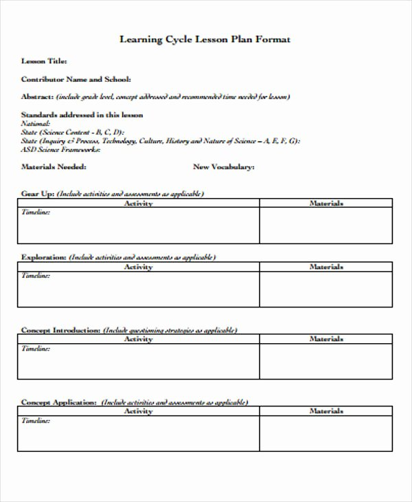 Personal Learning Plan Template Awesome Learning Plan Templates 10 Free Samples Examples format