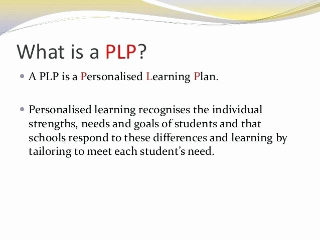 Personal Learning Plan Template Lovely Individual Learning Plan Template – Chaseevents