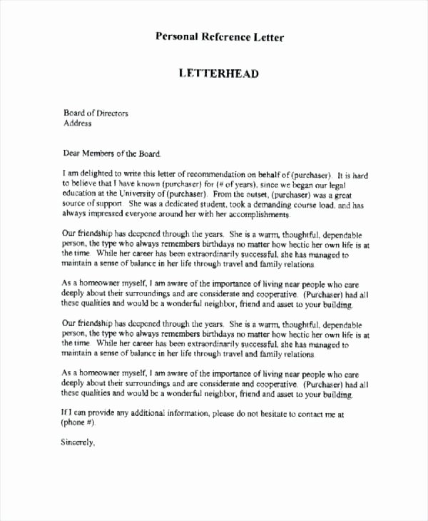 Personal Letter Template Word Lovely Personal Letter Template Word Loan Approval In format