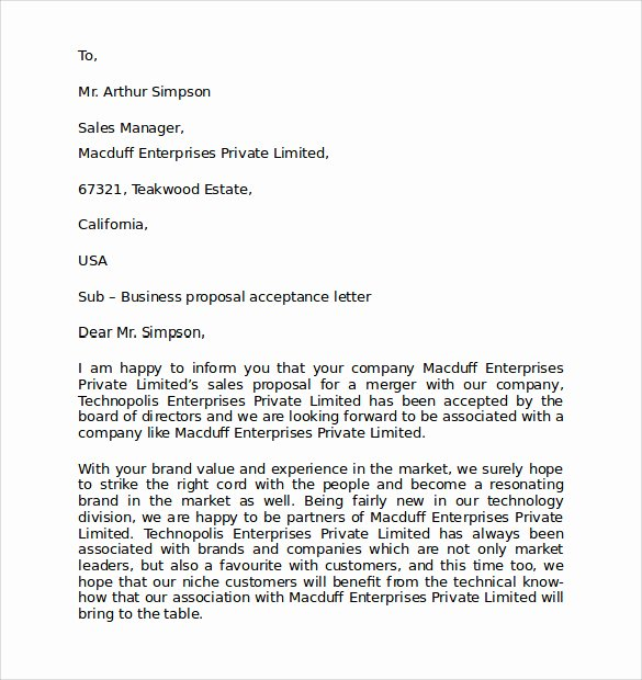Personal Letter Template Word Luxury Personal Business Letter format 7 Download Free