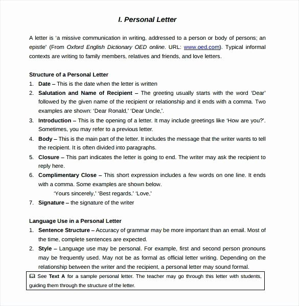 Personal Letter Template Word Luxury Personal Letter Template Word Loan Approval In format