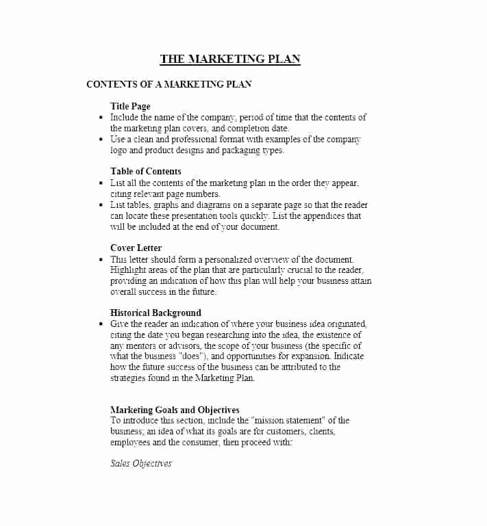Personal Marketing Plan Template Elegant Personal Success Plan Template – Moonwalkgroup
