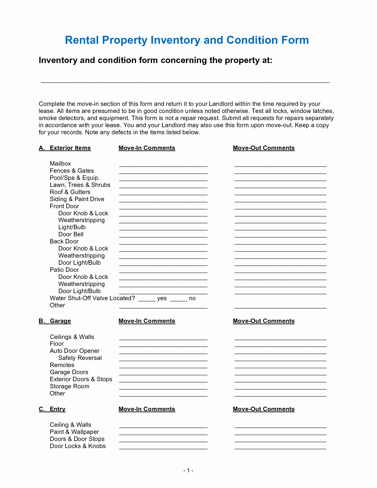Personal Property Inventory Template Fresh Best S Of Personal Property Inventory for Home