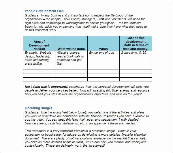 Personal Strategic Plan Template Best Of 14 Strategic Plan Templates – Pdf Word