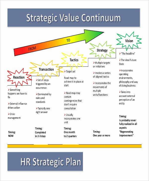 Personal Strategic Plan Template New Free Strategic Plan 45 Free Word Pdf Ppt format
