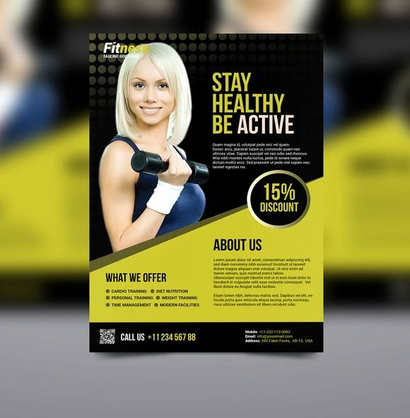 Personal Trainer Flyer Template Best Of 17 Best Images About Flyer and Poster Ideas for Personal