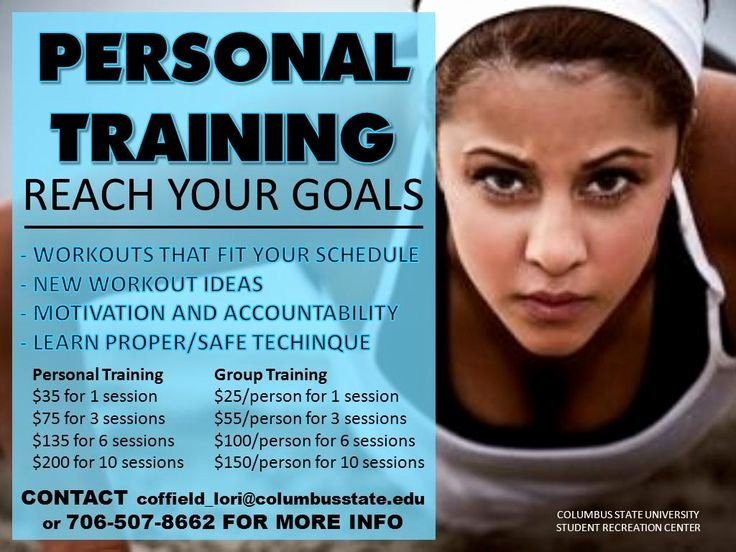 Personal Trainer Flyer Template Best Of Personal Training Home Gym Ideas