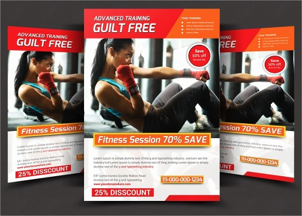 Personal Trainer Flyer Template Lovely 21 Fitness Flyer Templates