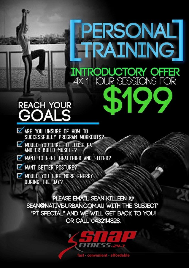 Personal Trainer Flyer Template Luxury Upmarket Modern Personal Trainer Flyer Design for A