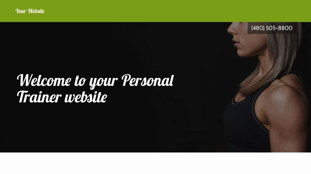 Personal Trainer Website Template Awesome Personal Trainer Website Templates
