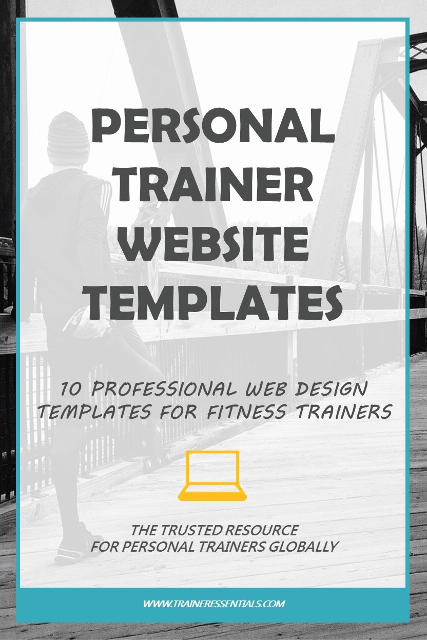 Personal Trainer Website Template Fresh Personal Trainer Website Design [10 Professional Templates