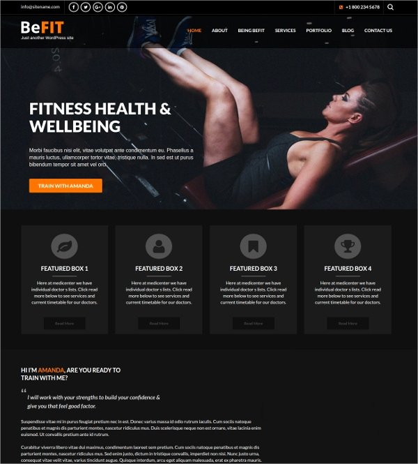 Personal Trainer Website Template Inspirational 19 Free Personal Website themes & Templates