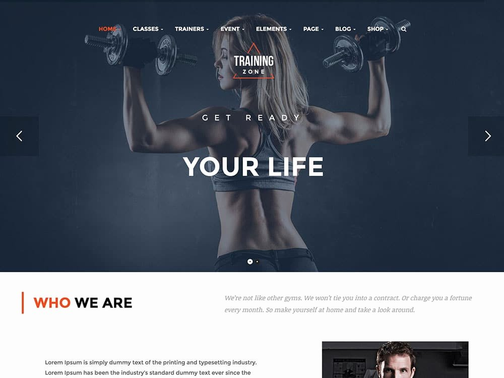 Personal Trainer Website Template Luxury 25 Best Wordpress Fitness themes 2019 for Gyms Personal