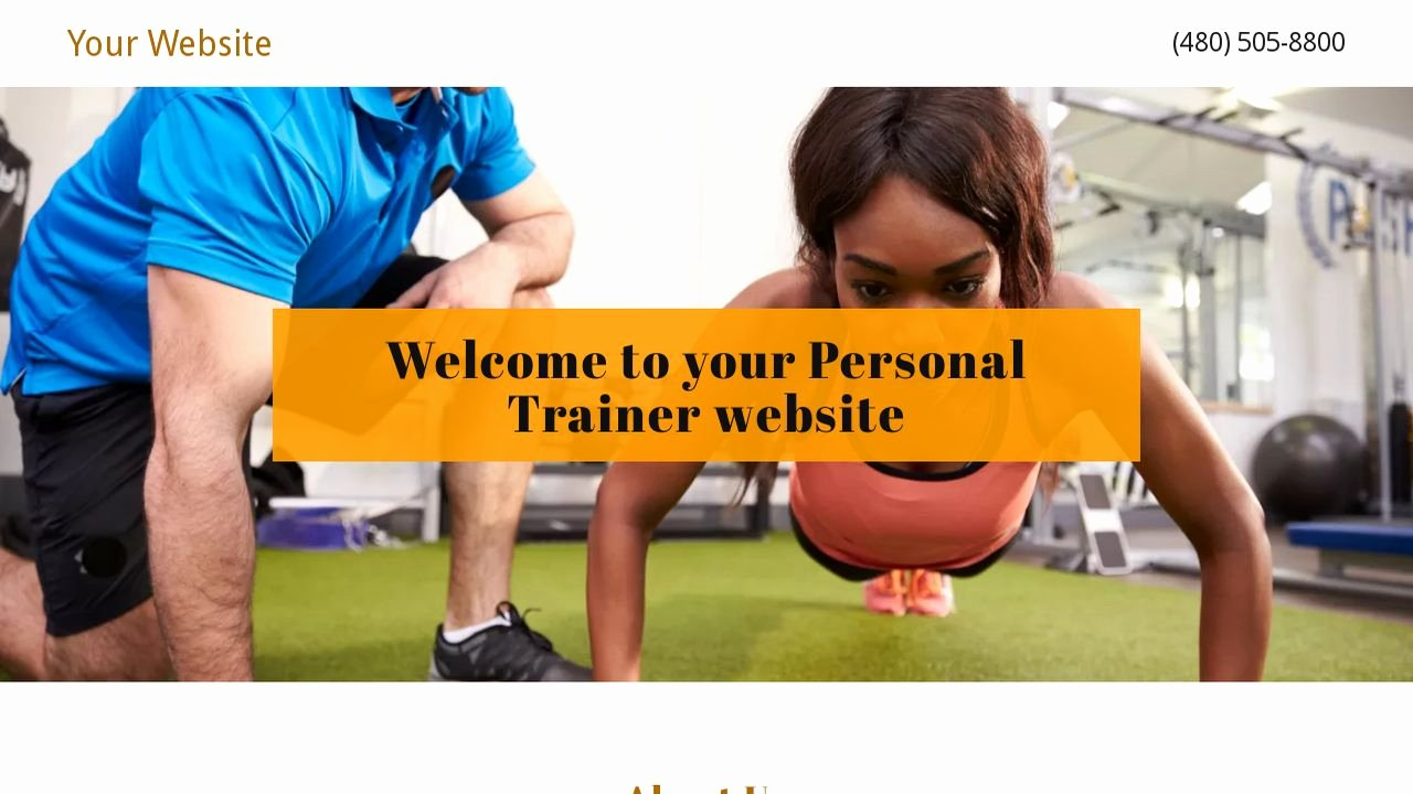 Personal Trainer Website Template New Example 13 Personal Trainer Website Template