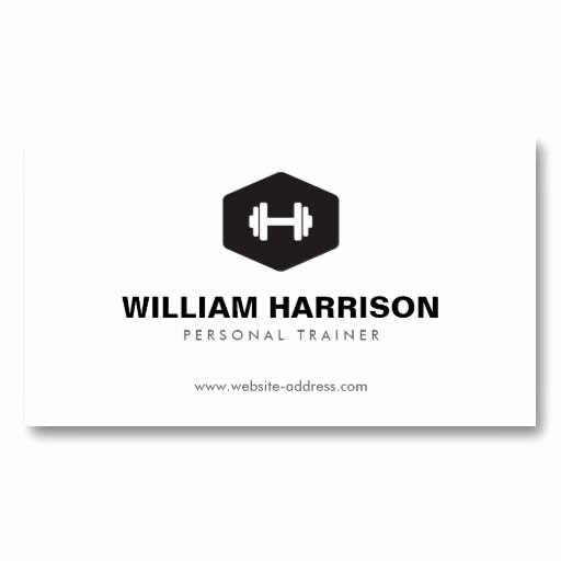 Personal Trainer Website Template Unique 25 Best Ideas About Personal Trainer Business Cards On
