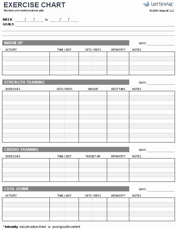 Personal Training Workout Template Beautiful some Great Advice for Getting Fit This Year