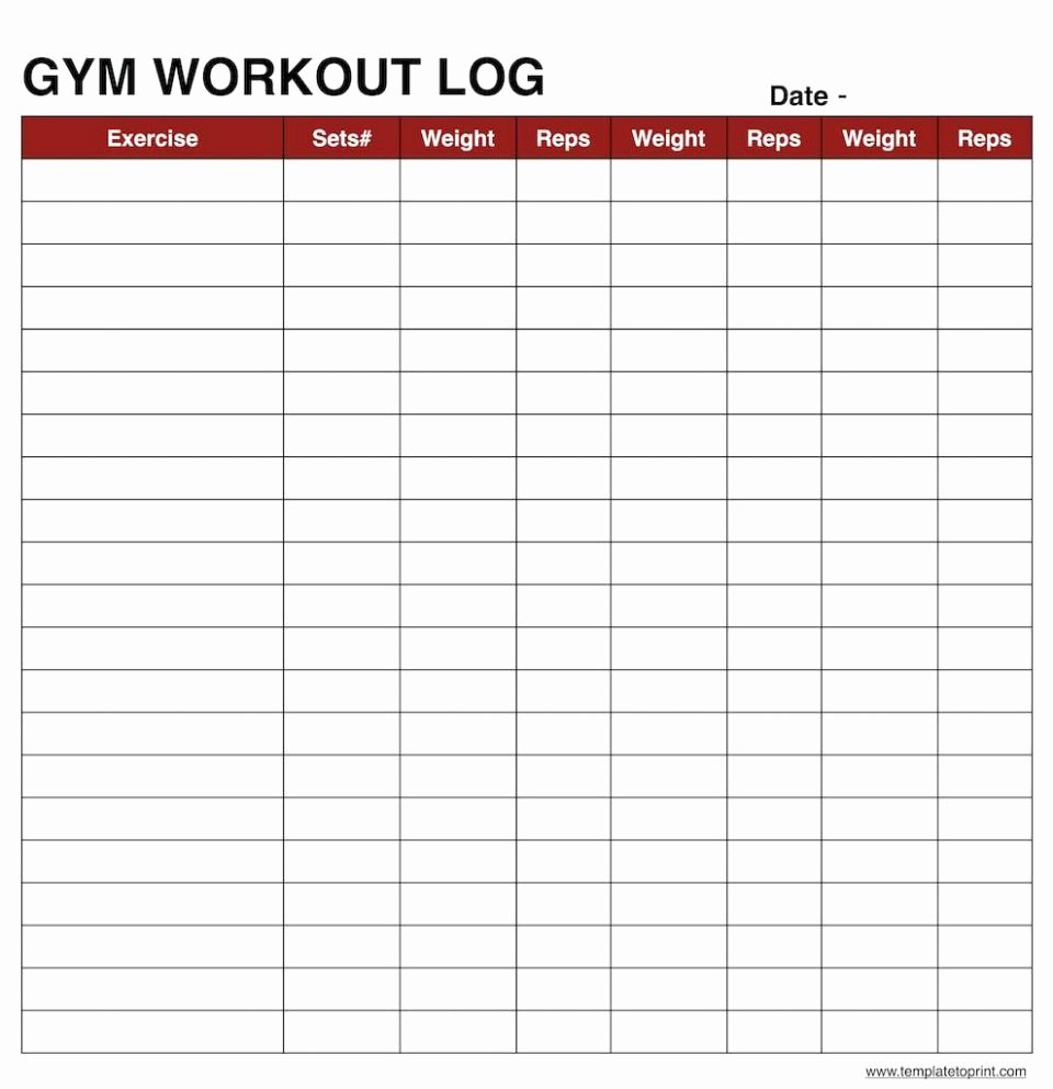 Personal Training Workout Template Inspirational Olympic Weightliftingeadsheet Template Weight Training