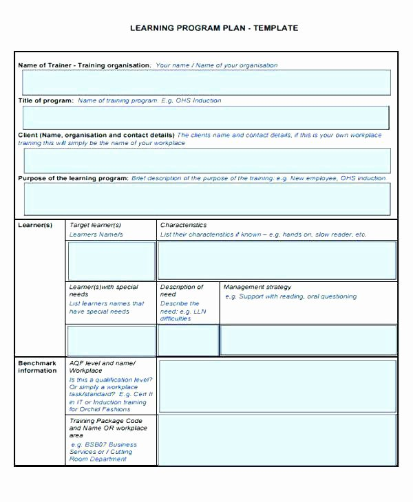 Personalised Learning Plans Template Awesome Individual Learning Plan Template – Chaseevents