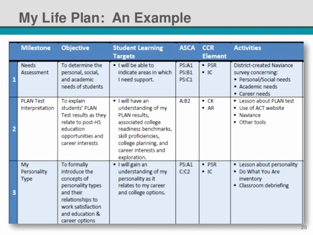 Personalised Learning Plans Template Lovely Nsi 2014 Standardized Individual Learning Plans It S