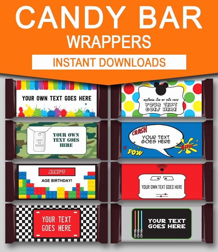 Personalized Candy Wrapper Template Elegant 25 Best Ideas About Candy Bar Labels On Pinterest