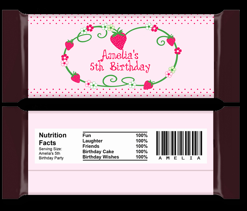 Personalized Candy Wrapper Template Inspirational Diy Candy Bar Wrapper Templates Party Favors