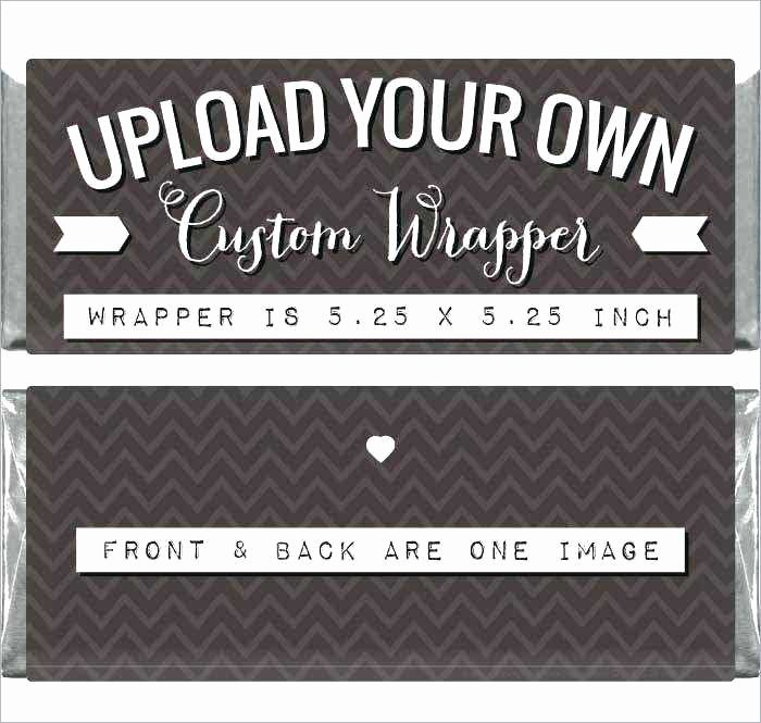 Personalized Candy Wrapper Template Luxury Custom Candy Bar Wrapper Template Candy Bar Wrapper